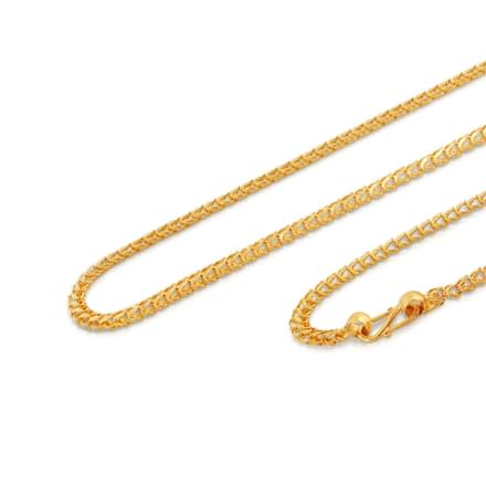 Chica 20 Inch 22Kt Gold Chain