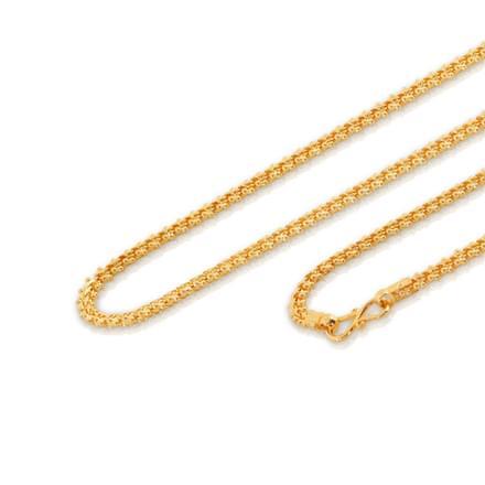 Alana 18 Inch 22Kt Gold Chain