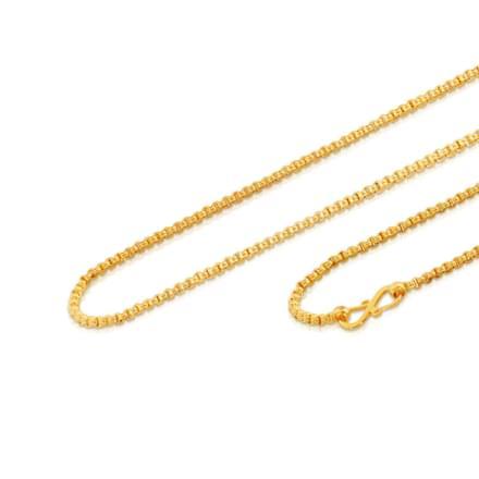 Gracia 18 Inch 22Kt Gold Chain