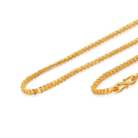 Cari 18 Inch 22Kt Gold Chain