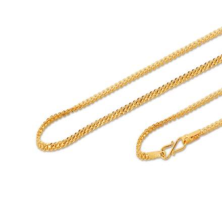 Elisa 18 Inch 22Kt Gold Chain