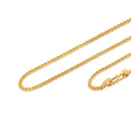 Brisa 21 Inch 22Kt Gold Chain