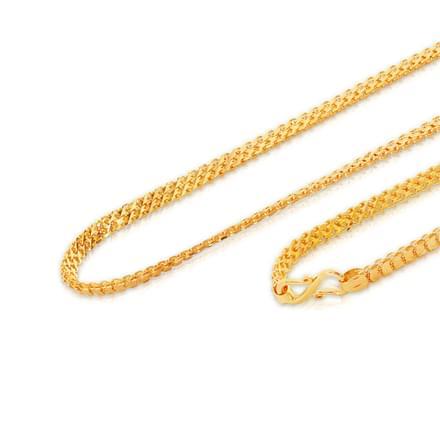 Leya 16 Inch 22Kt Gold Chain