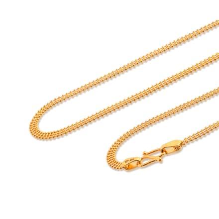 Aadita 20 Inch 22Kt Gold Chain