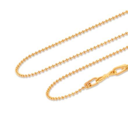 Aarohi 24 Inch 22Kt Gold Chain
