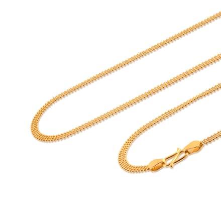 Aanandi 18 Inch 22Kt Gold Chain