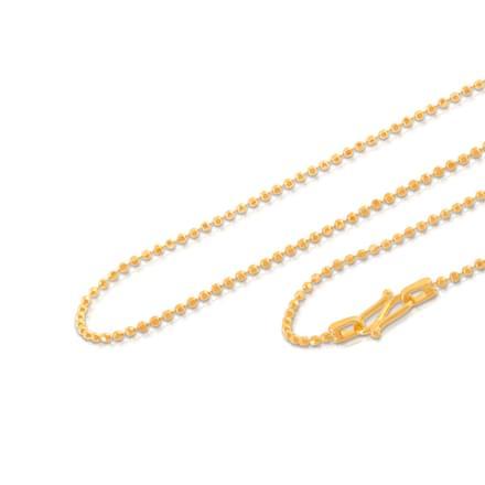 Ajita 18 Inch 22Kt Gold Chain