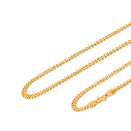 Barkat 16 Inch 22Kt Gold Chain