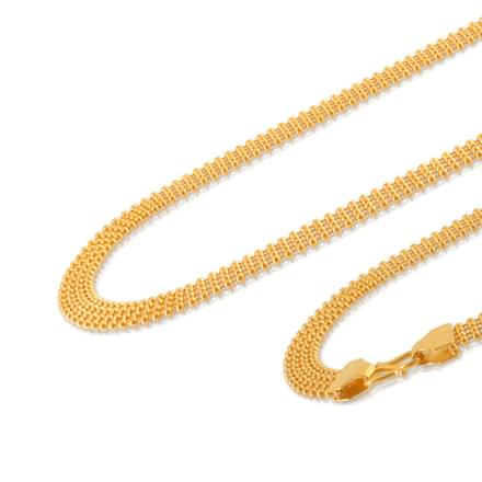 Chitra 16 Inch 22Kt Gold Chain