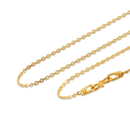 Modest Cable Gold Chain