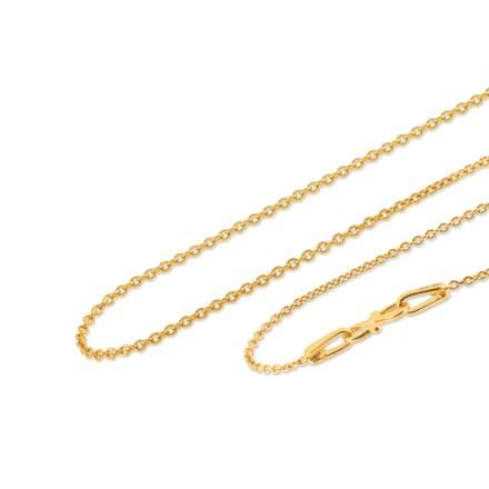 Nayan 18 Inch 22Kt Gold Chain