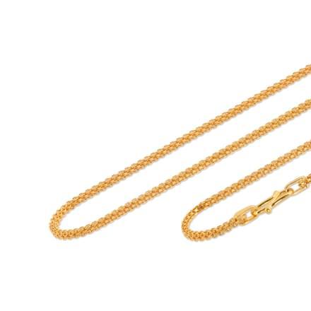 Niral 18 Inch 22Kt Gold Chain