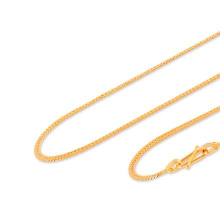Abhaya 18 Inch 22Kt Gold Chain