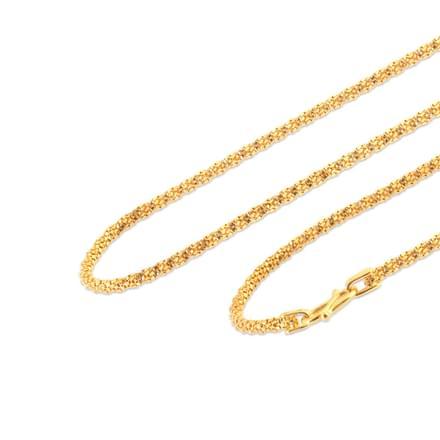 Arya 16 Inch 22Kt Gold Chain
