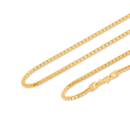 Mitra 16 Inch 22Kt Gold Chain