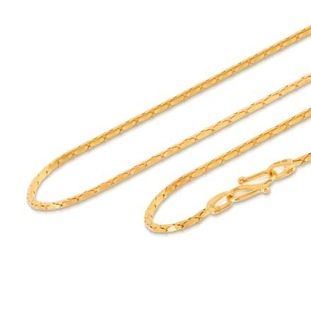 Shakti 18 Inch 22Kt Gold Chain