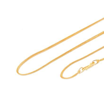 Visha 18 Inch 22Kt Gold Chain