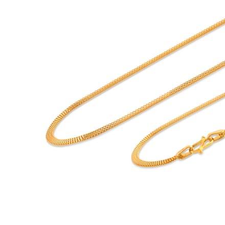 Navneet 16 Inch 22Kt Gold Chain