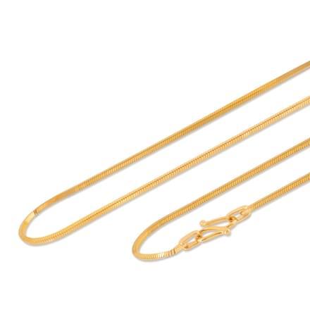 Drisana 18 Inch 22Kt Gold Chain