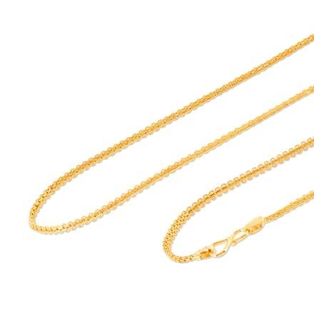 Manu 18 Inch 22Kt Gold Chain