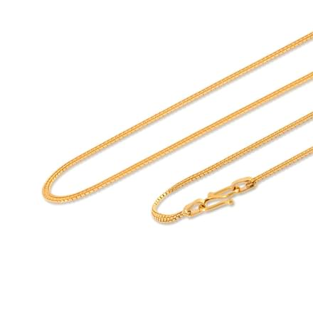 Pahal 18 Inch 22Kt Gold Chain
