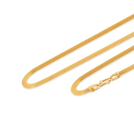 Shlok 16 Inch 22Kt Gold Chain