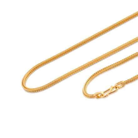 Jiva 20 Inch 22Kt Gold Chain