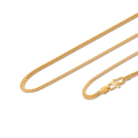 Adya 20 Inch 22Kt Gold Chain