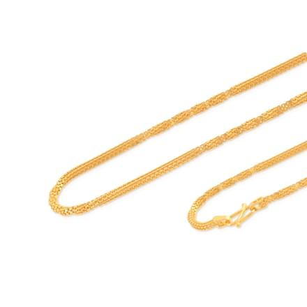 Sneh  16 Inch 22Kt Gold Chain