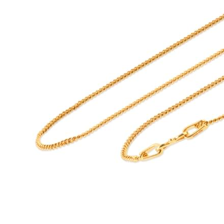 Shamim 20 Inch 22Kt Gold Chain