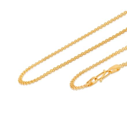 Interlinked Cable Gold Chain