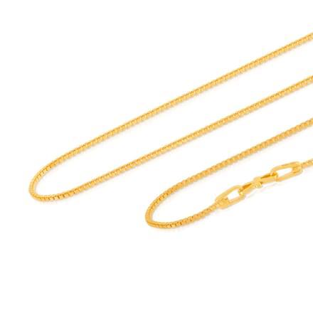 Viraj 24 Inch 22Kt Gold Chain