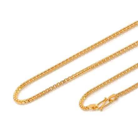 Vishva 18 Inch 22Kt Gold Chain