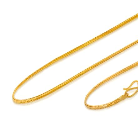 Amrit 18 Inch 22Kt Gold Chain