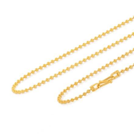 Ishani 18 Inch 22Kt Gold Chain
