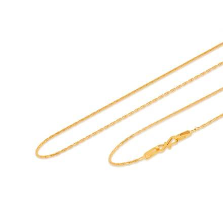 Deshan 18 Inch 22Kt Gold Chain