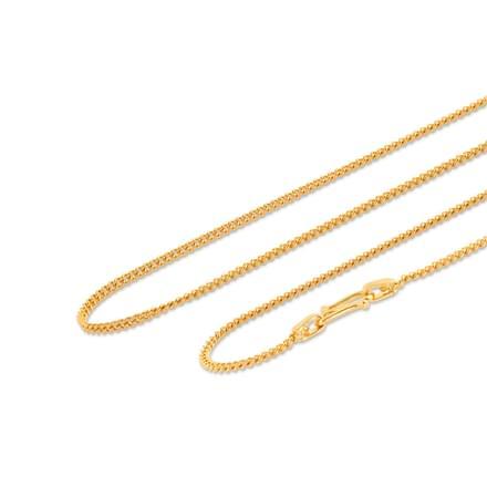 Mandeep 16 Inch 22Kt Gold Chain