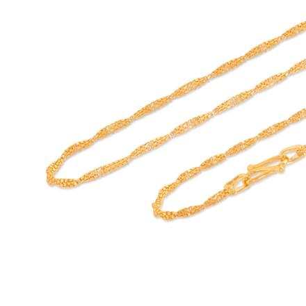 Rati 18 Inch 22Kt Gold Chain