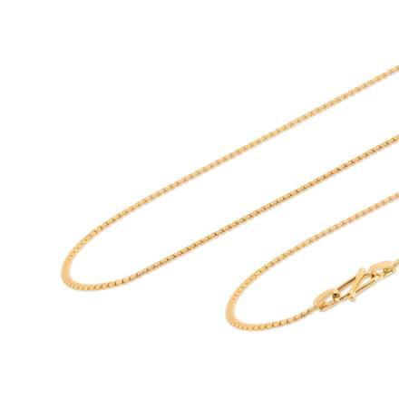 Kanan 18 Inch 22Kt Gold Chain
