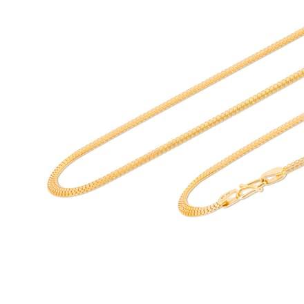 Hemal 18 Inch 22Kt Gold Chain