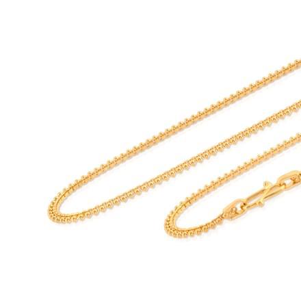 Apeksha 18 Inch 22Kt Gold Chain