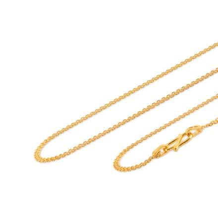 Navneet 24 Inch 22Kt Gold Chain