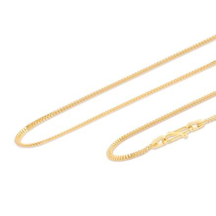 Raman 18 Inch 22Kt Gold Chain