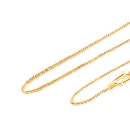 Daya 22 Inch 22Kt Gold Chain
