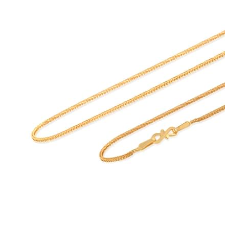 Kirit 18 Inch 22Kt Gold Chain