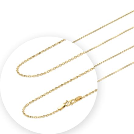 Sleek Cable Gold Chain