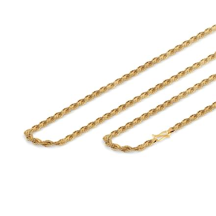 Classic Braid Gold Chain
