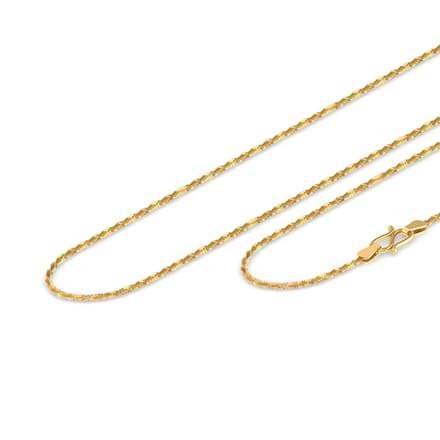 Wander Twisted Rope Gold Chain
