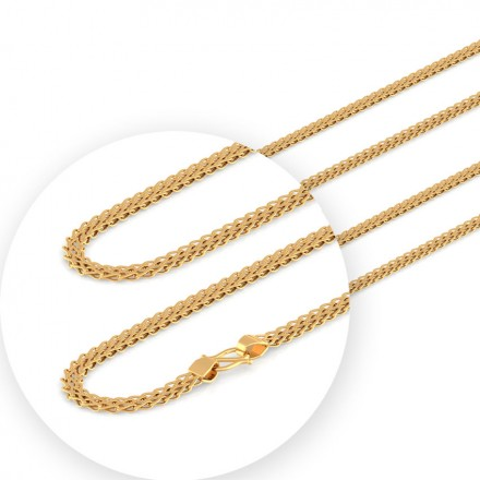 Finery Foxtail Gold Chain