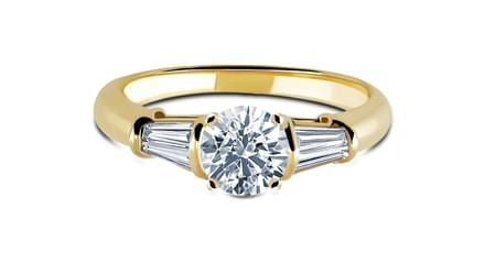 Baguette Style Ring Mount